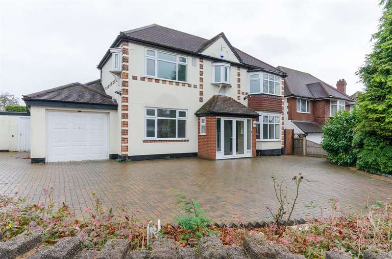 4 Bedrooms Detached House for sale in Lordswood Road, Harborne, Birmingham, B17 8QL