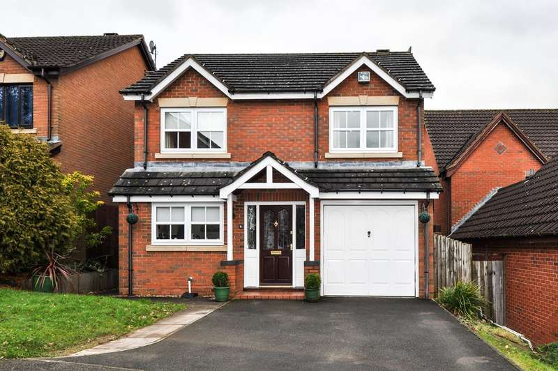 4 Bedrooms Detached House for sale in Wychbold Close, Callow Hill, Redditch, B97