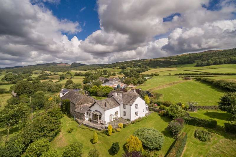 6 Bedrooms Farm House Character Property for sale in Lands End Farm, Rusland, Ulverston, Cumbria, LA12 8JU