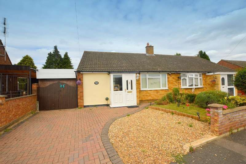 2 Bedrooms Bungalow for sale in Monton Close, Luton, Bedfordshire, LU3 2TQ