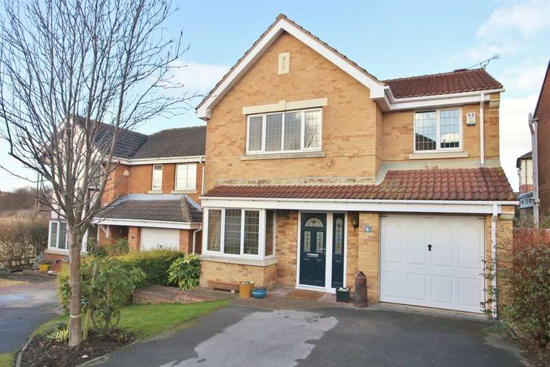 4 Bedrooms Detached House for sale in Windmill Court, Wombwell, Barnsley, S73