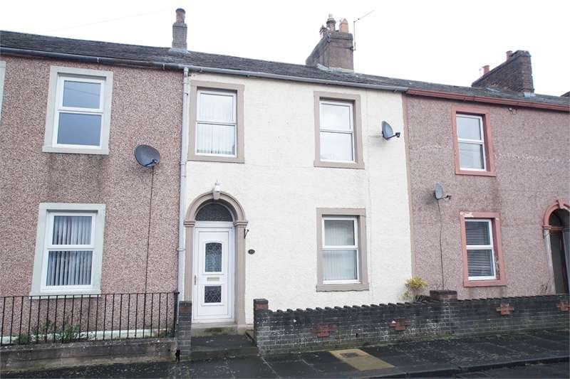 3 Bedrooms Terraced House for sale in CA7 9PN George Street, Wigton, Carlisle, Cumbria
