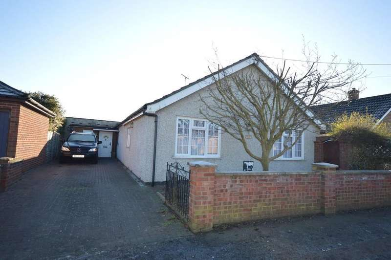 3 Bedrooms Detached Bungalow for sale in Villa Road, Stanway