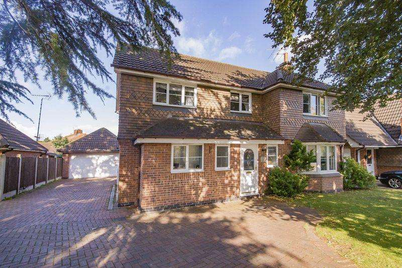 4 Bedrooms Detached House for sale in Courtland Gardens, Derby