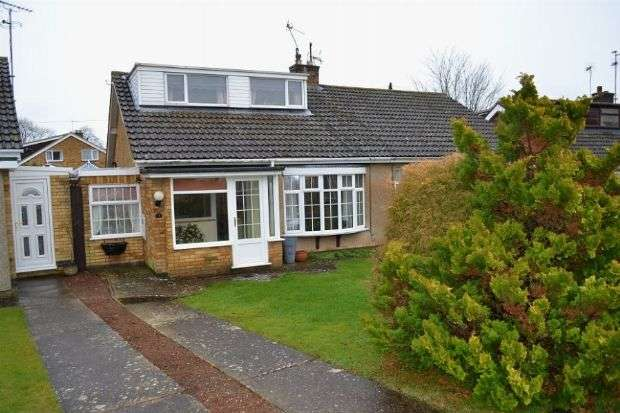 2 Bedrooms Semi Detached Bungalow for sale in Tithe Way, Roade, Northampton NN7 2PJ