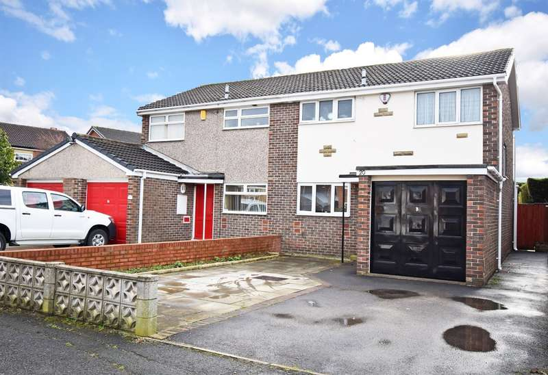3 Bedrooms Semi Detached House for sale in Lindale Grove, Wrenthorpe, Wakefield