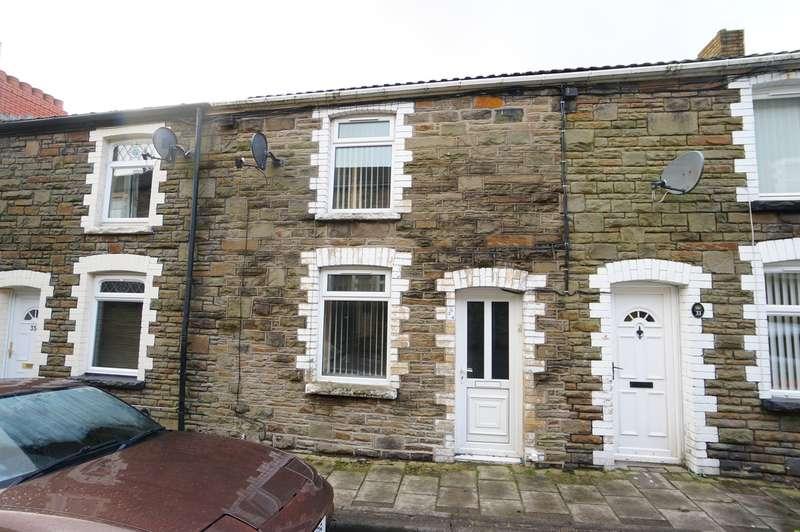 2 Bedrooms Terraced House for sale in Wood Street, Cwmcarn, Newport, NP11