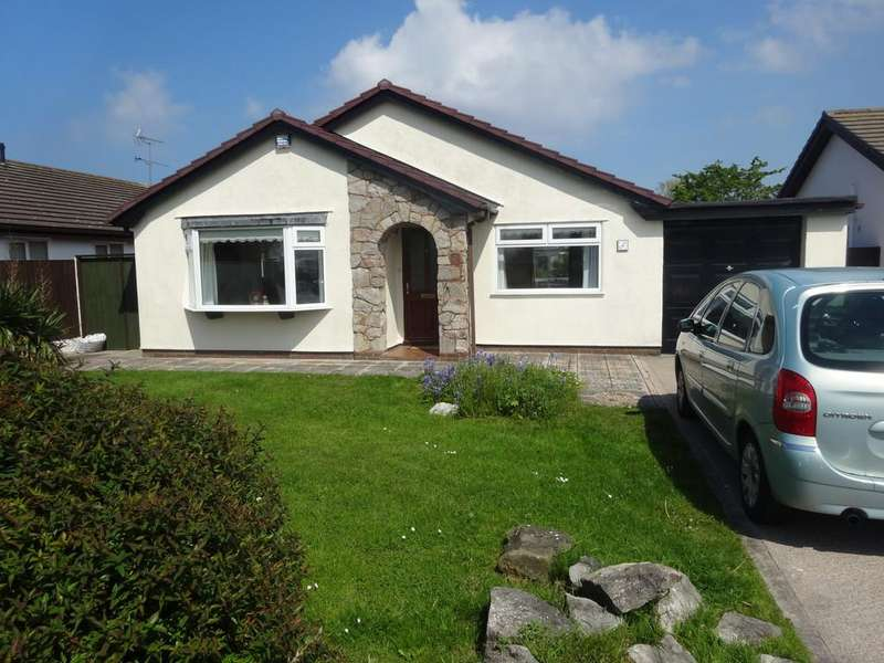 3 Bedrooms Detached Bungalow for sale in Maes Rhosyn, Towyn