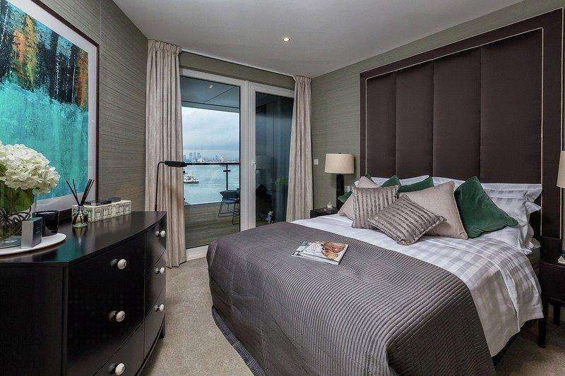 Studio Flat for sale in Royal Arsenal Riverside, Woolwich, London, SE18