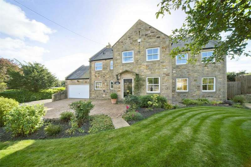 5 Bedrooms Detached House for sale in Laburnum House, West Thirston, MORPETH, Northumberland