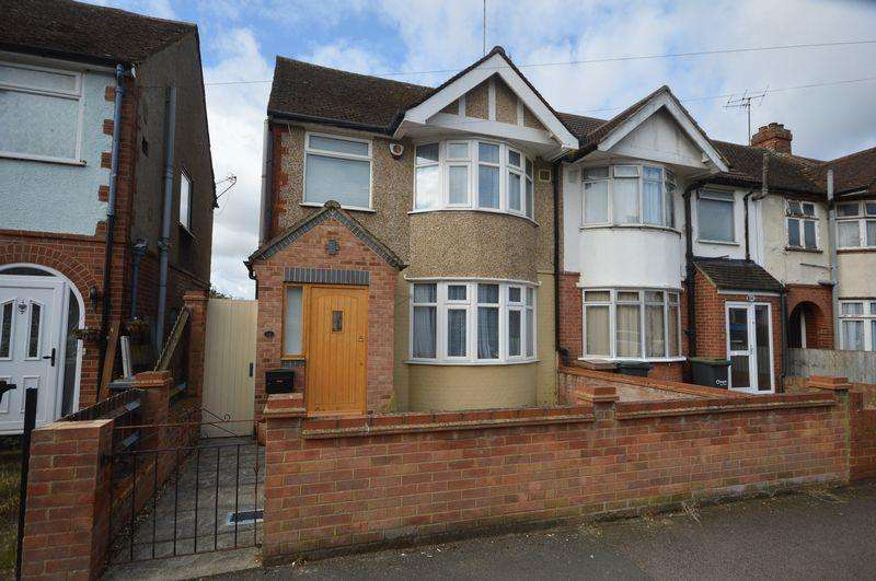 3 Bedrooms End Of Terrace House for sale in Grosvenor Road, Luton