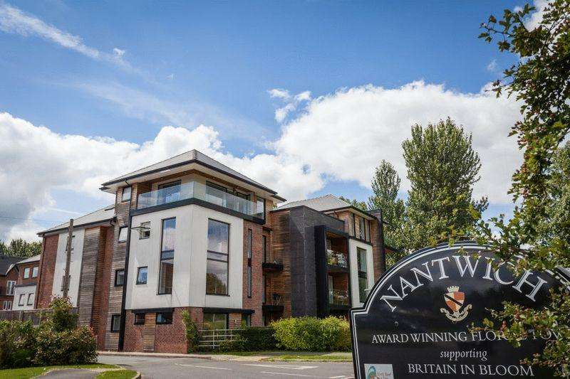 2 Bedrooms Apartment Flat for sale in Weaver House, Barony Road, Nantwich