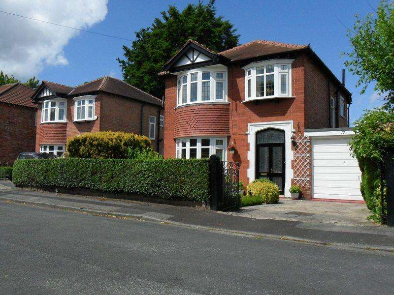 3 Bedrooms Detached House for sale in Shaftesbury Avenue, Cheadle Hulme