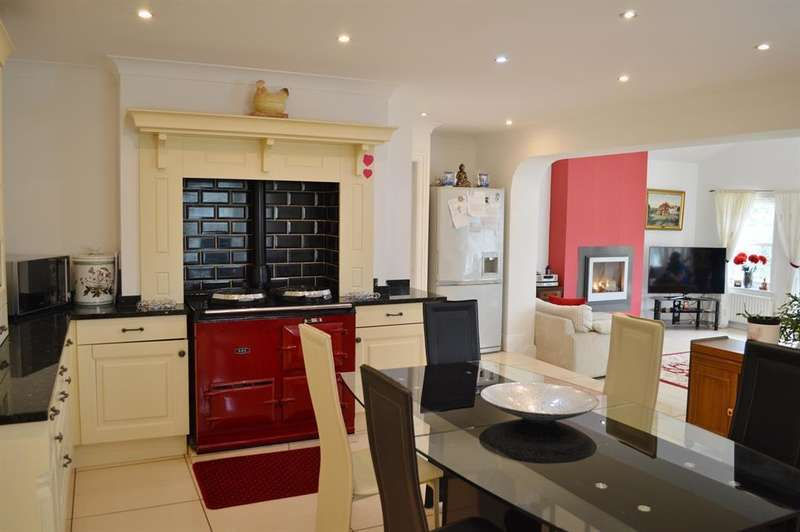 4 Bedrooms Detached House for sale in House on the Hill, Bank Lane, Faceby, North Yorkshire, TS9 7BW