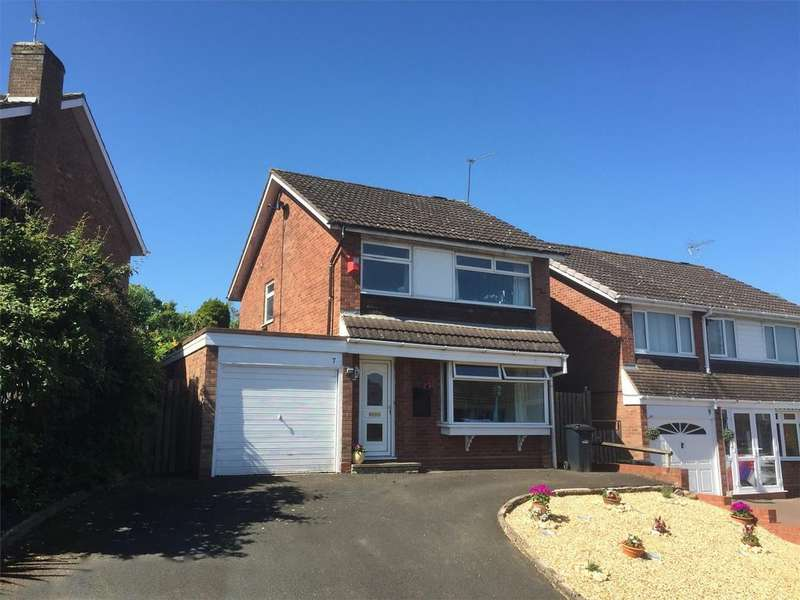 3 Bedrooms Detached House for sale in Quantock Close, Hayley Green, HALESOWEN, West Midlands