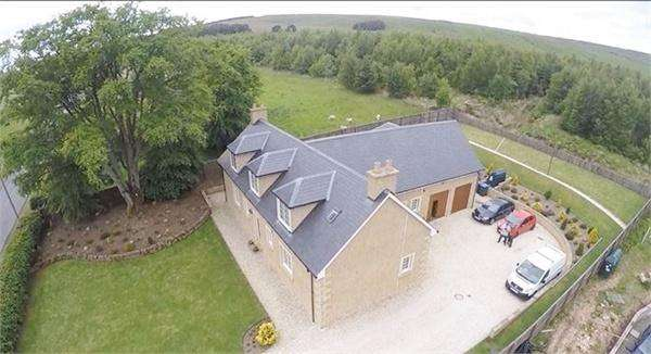 4 Bedrooms Detached House for sale in Beechlea, Swinnie, JEDBURGH, Scottish Borders