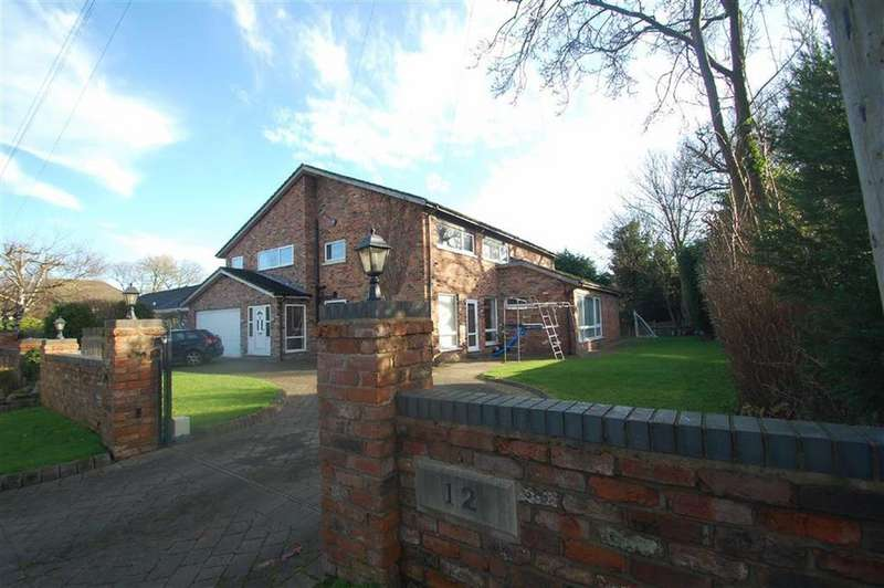5 Bedrooms Detached House for sale in Overhill Lane, Wilmslow Park North, Wilmslow, Cheshire