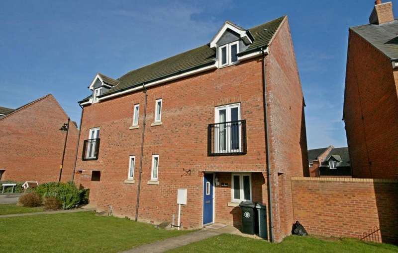 2 Bedrooms Semi Detached House for sale in The Gables, Bourne, Lincolnshire, PE10