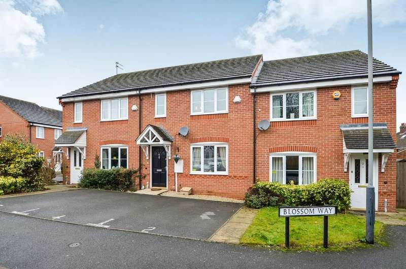 3 Bedrooms Terraced House for sale in Blossom Way, Rugby