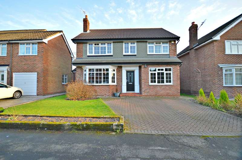 4 Bedrooms Detached House for sale in Marlborough Avenue, Cheadle Hulme