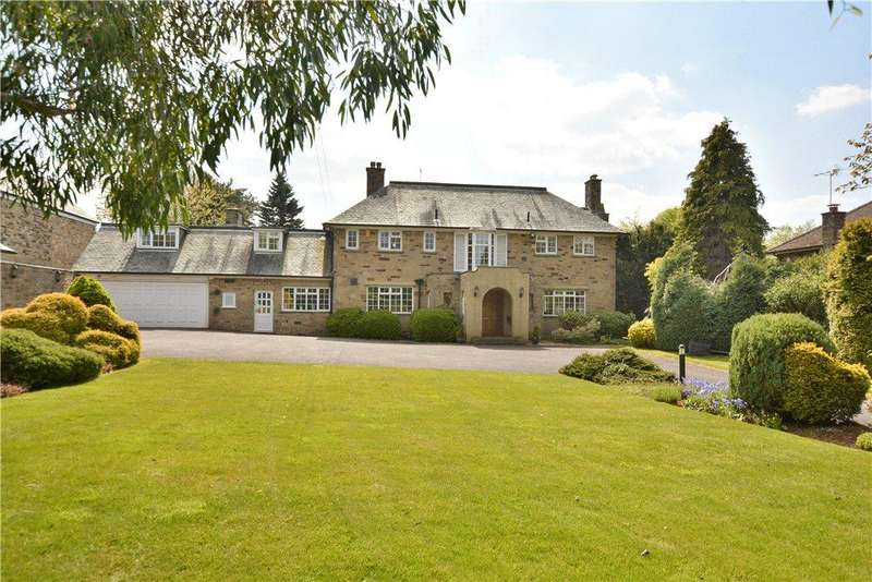 5 Bedrooms Detached House for sale in South Lawns, Wigton Lane, Alwoodley, Leeds, West Yorkshire