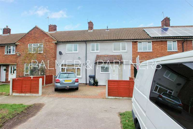 4 Bedrooms Terraced House for sale in Walnut Tree Way, Shrub End, Colchester