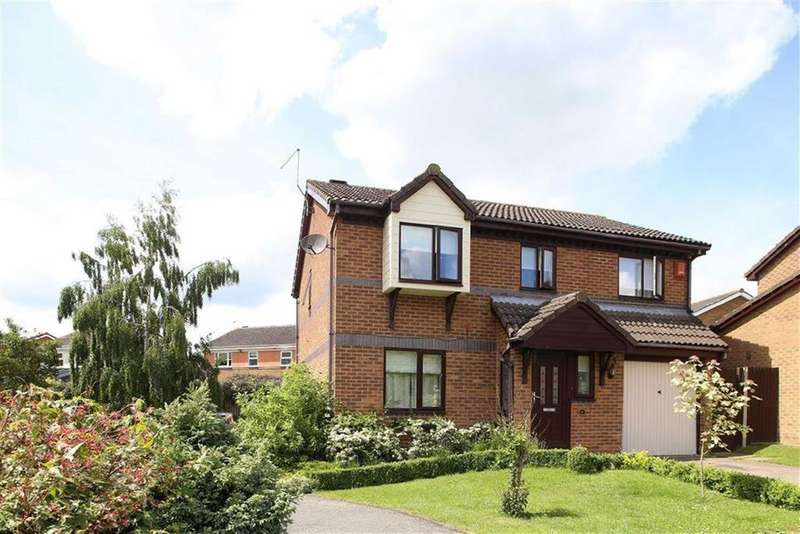 4 Bedrooms Detached House for sale in Montgomery Close, Lutterworth, Leicestershire