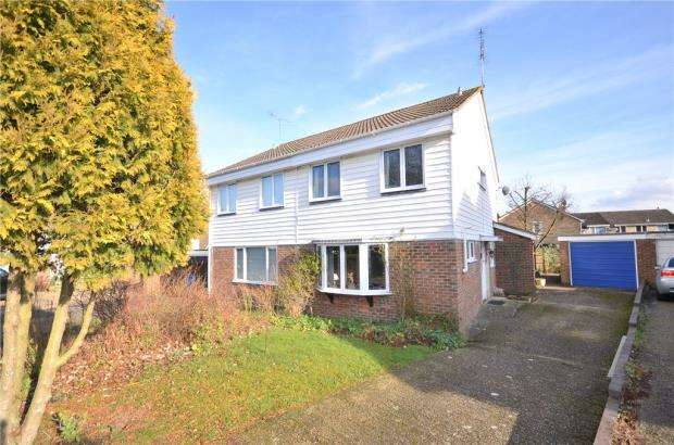 4 Bedrooms Semi Detached House for sale in Staplehurst, Bracknell, Berkshire