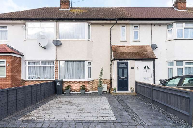 3 Bedrooms Terraced House for sale in Hamilton Road, Feltham, TW13
