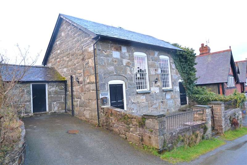 3 Bedrooms Detached House for sale in The Old Chapel, Bont Dolgadfan, Llanbrynmair