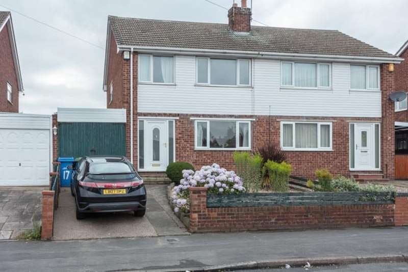3 Bedrooms Semi Detached House for sale in St. Pauls Road, Worksop, Nottinghamshire, S80