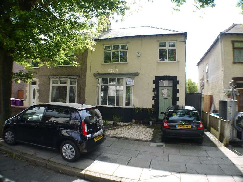 3 Bedrooms Semi Detached House for sale in Lovelace Road, Liverpool, L19