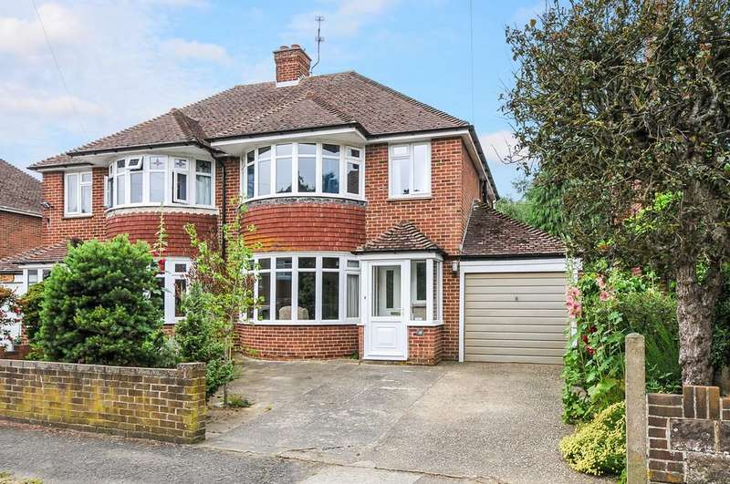 3 Bedrooms Semi Detached House for sale in Wiston Avenue, Chichester