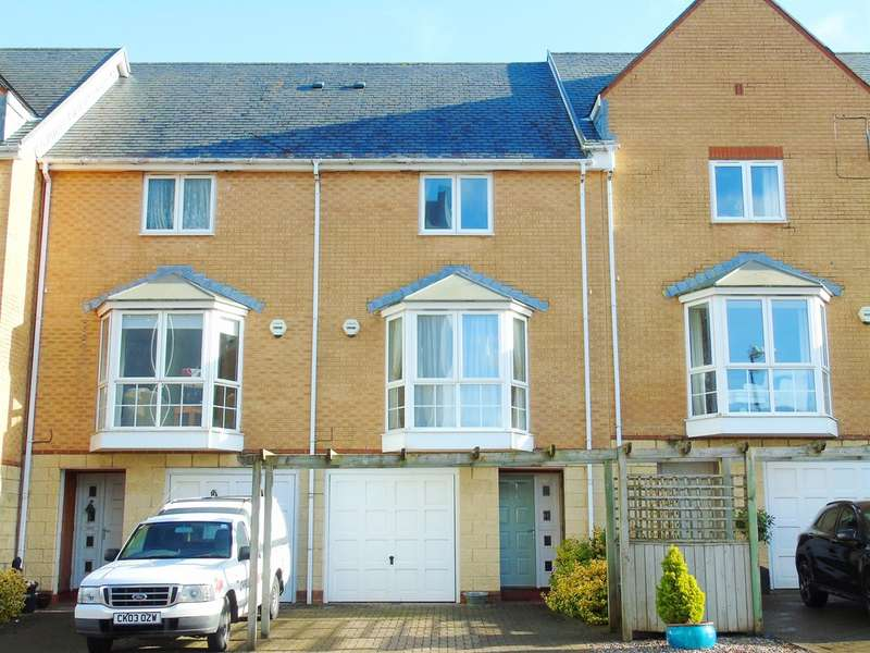4 Bedrooms Town House for sale in Pierhead View, Penarth