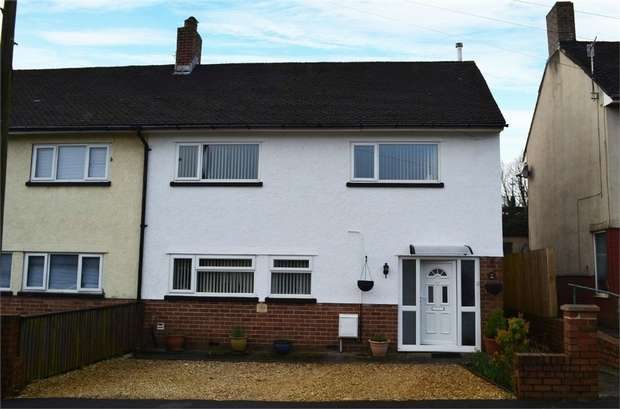 3 Bedrooms Semi Detached House for sale in Heol Trecastell, Caerphilly