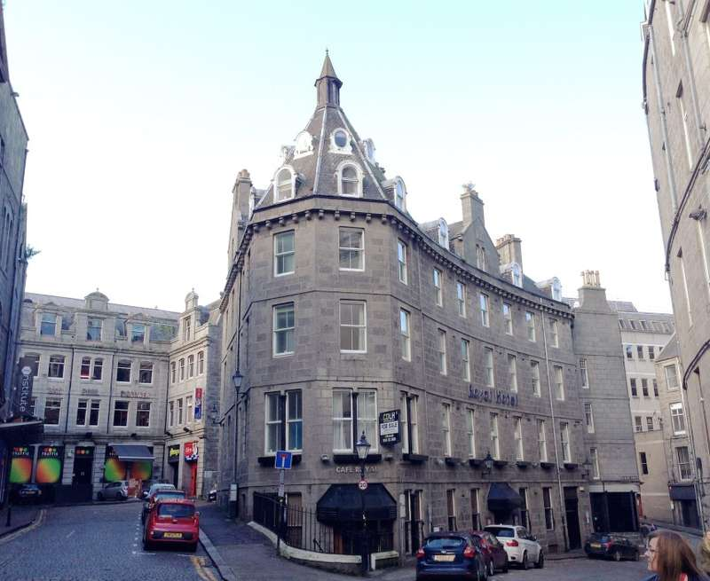41 Bedrooms Hotel Commercial for sale in The Royal Hotel, Bath Street, Aberdeen, Aberdeenshire, AB11 6BJ