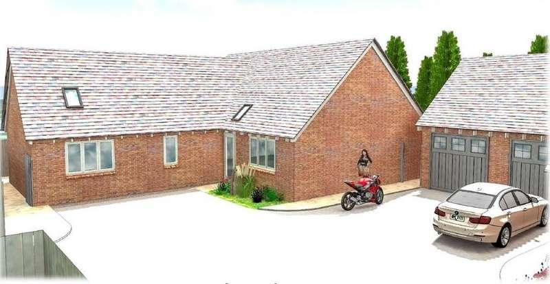 3 Bedrooms Detached Bungalow for sale in Burton Road, Ashby-de-la-Zouch