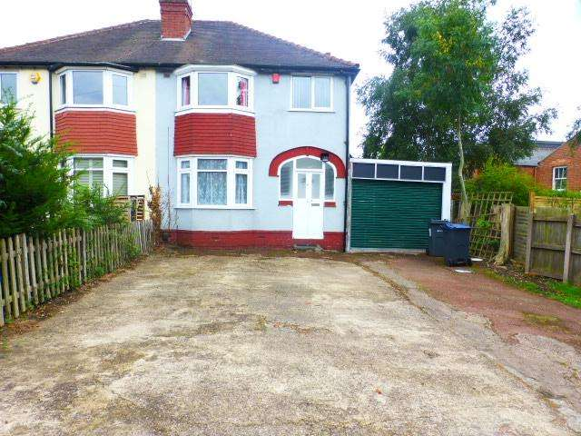 3 Bedrooms Semi Detached House for rent in Tennal Grove, Harborne, Birmingham, West Midlands, B32 2HP
