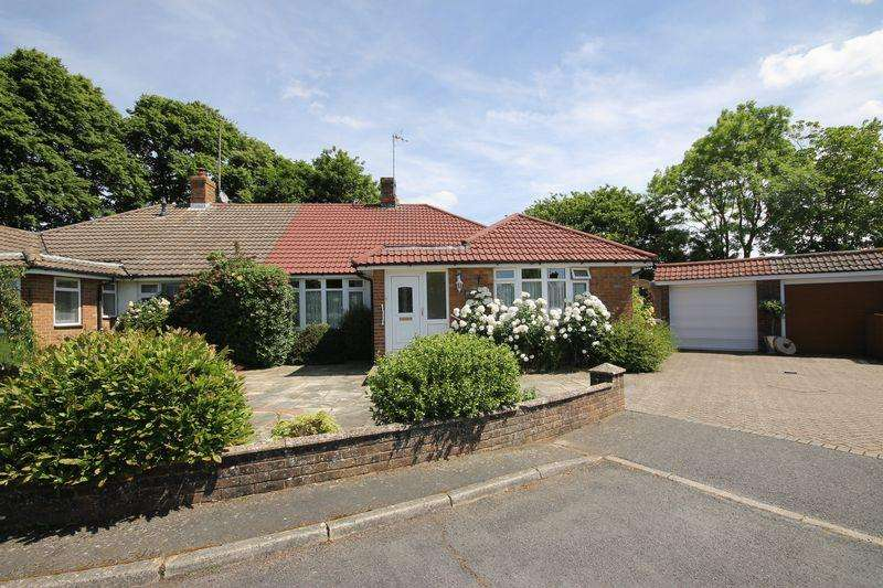 3 Bedrooms Semi Detached Bungalow for sale in Oakroyd Close, Burgess Hill, West Sussex