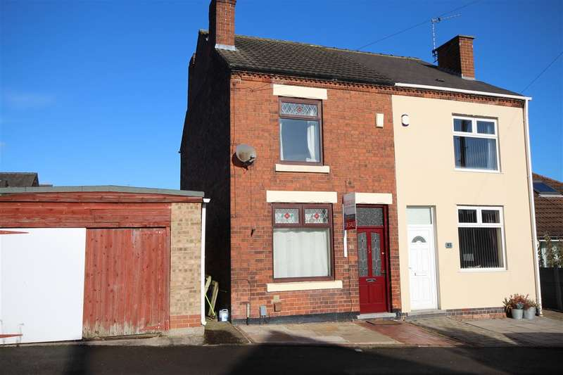 2 Bedrooms Semi Detached House for sale in Wade Avenue, Ilkeston