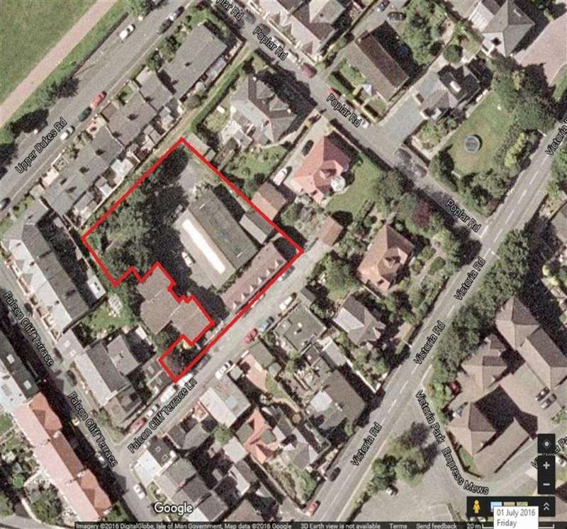 Land Commercial for sale in Falcon Cliff Lane, Douglas, Isle of Man