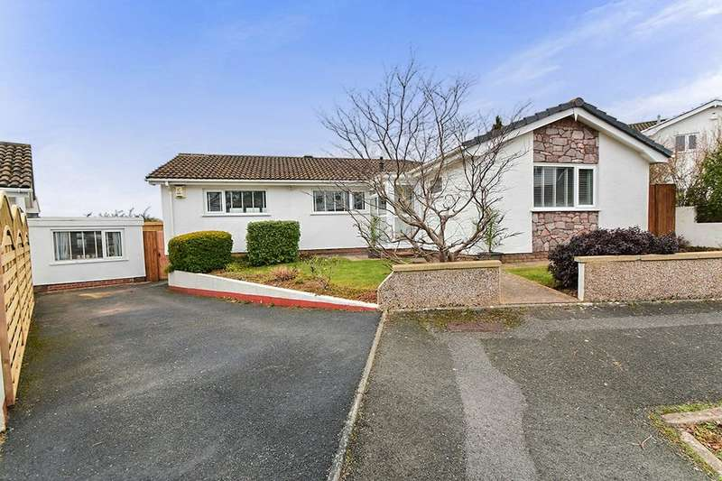 3 Bedrooms Detached Bungalow for sale in Fluder Rise, Kingskerswell, Newton Abbot, TQ12