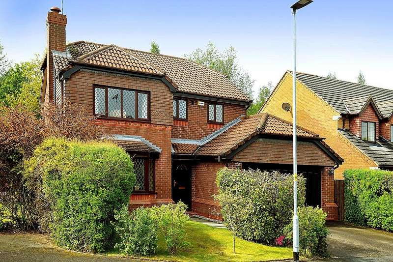 4 Bedrooms Detached House for sale in Barshaw Gardens, Appleton