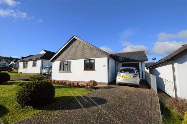 2 Bedrooms Detached Bungalow for sale in Moorland View, Buckfastleigh, Devon