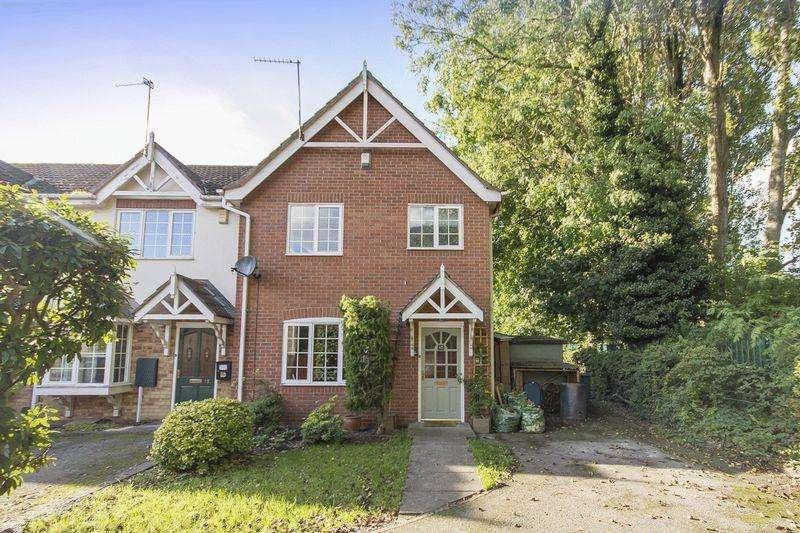 3 Bedrooms Terraced House for sale in FRAMPTON GARDENS, LITTLEOVER