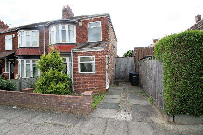 3 Bedrooms Semi Detached House for sale in Vincent Road, Middlesbrough
