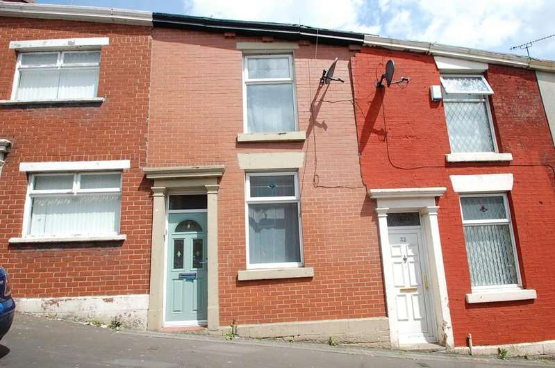 2 Bedrooms Terraced House for sale in Earl Street, Whalley Range, BlackburnBB1 7ND