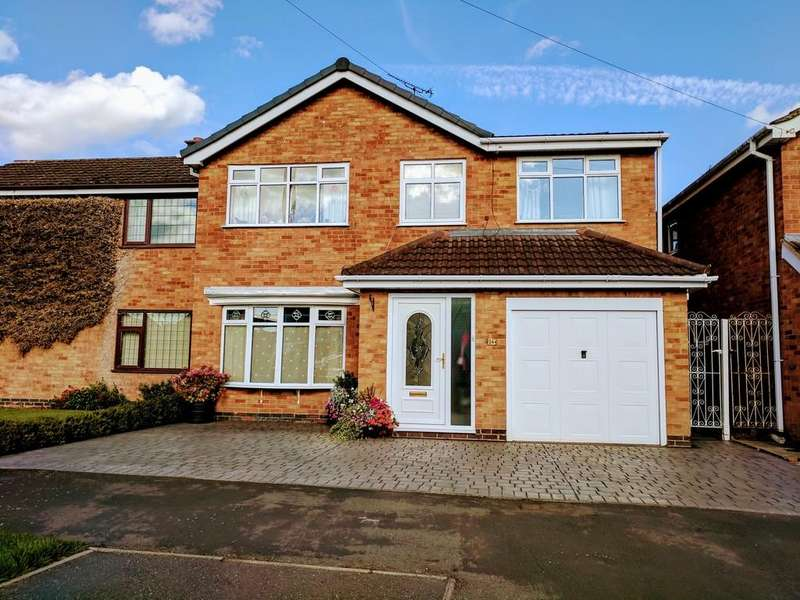 5 Bedrooms Semi Detached House for sale in Brookside Place, Sheepy Magna