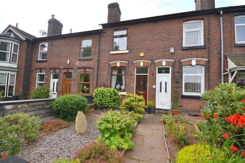 2 Bedrooms Terraced House for sale in Bradwell Lane, Porthill, Newcastle