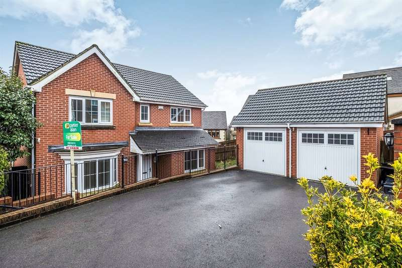 4 Bedrooms Detached House for sale in Crymlyn Parc, Skewen, Neath